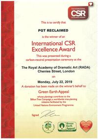 International CSR Excellence Awards 2019