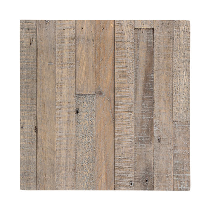 RUSTIC STRIP WOOD WEATHERED TEAK