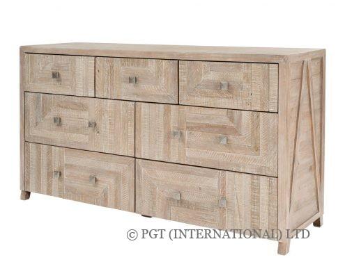 Rhodes recycled wood dresser
