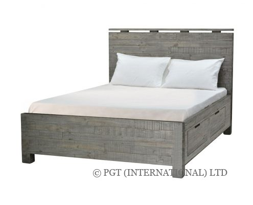 rustic bayview storage bed