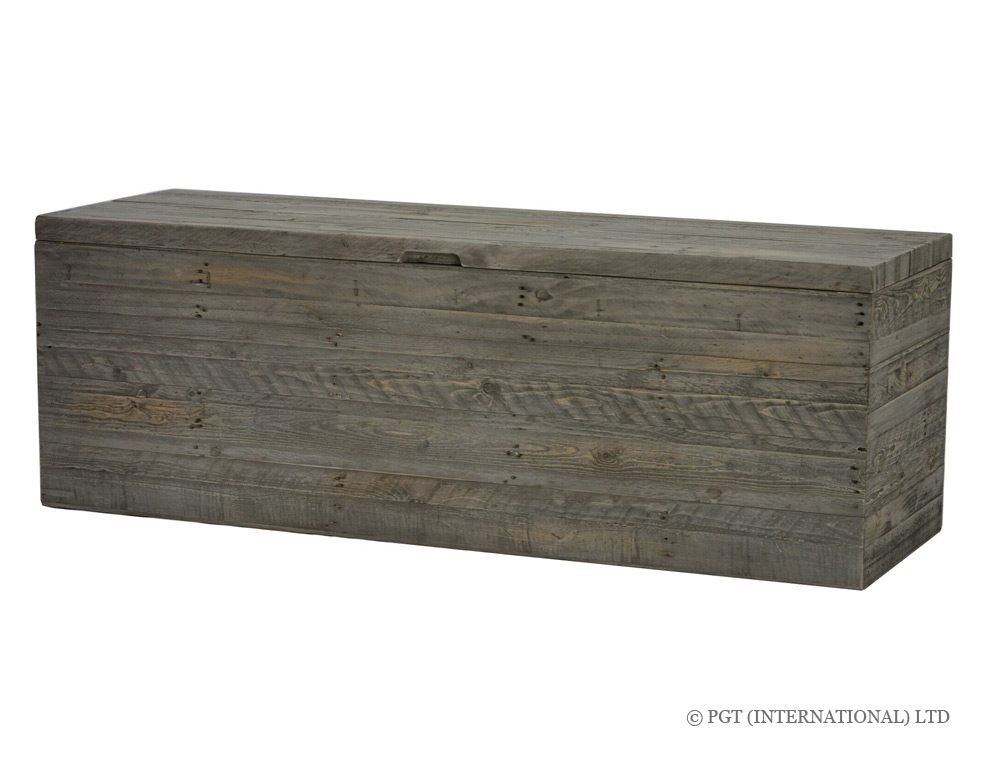 rustic bayview blanket box