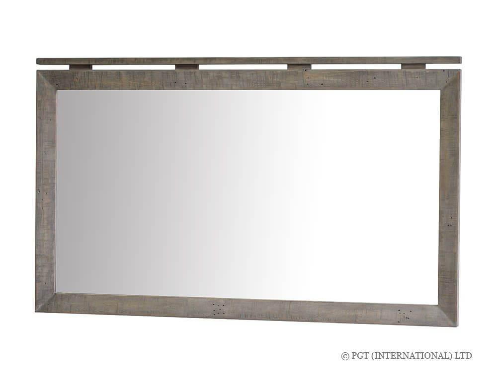 rustic bayview landscape mirror