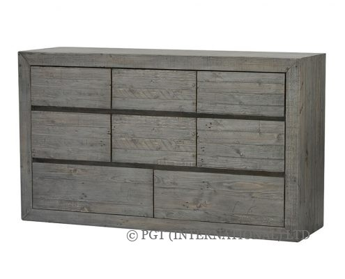 rustic bayview dresser