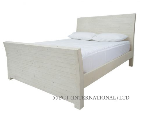 Santorini timber bed frame