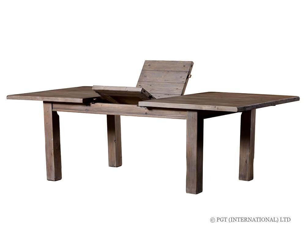 settler extending dining table
