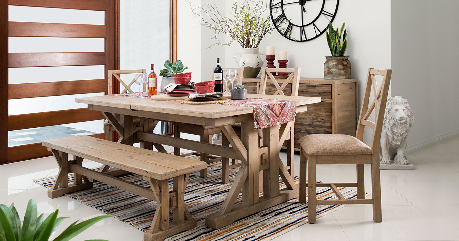 TuscanSpring Reclaimed Dining Furniture