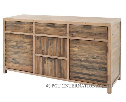 Tuscanspring solid timber buffet cabinet