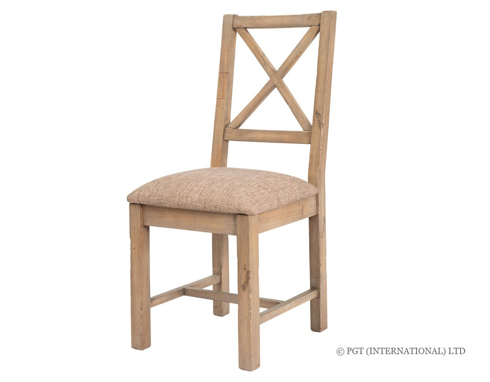 Tuscanspring reclaimed timber dining chair