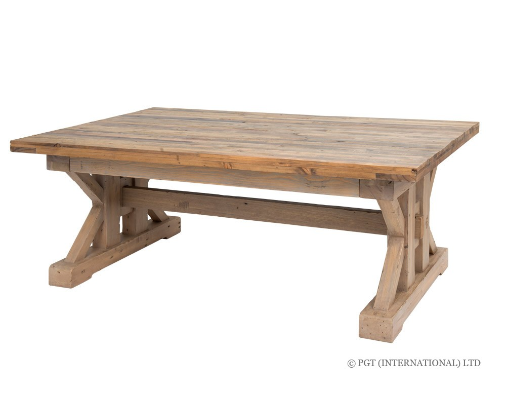 Tuscanspring reclaimed wood coffee table