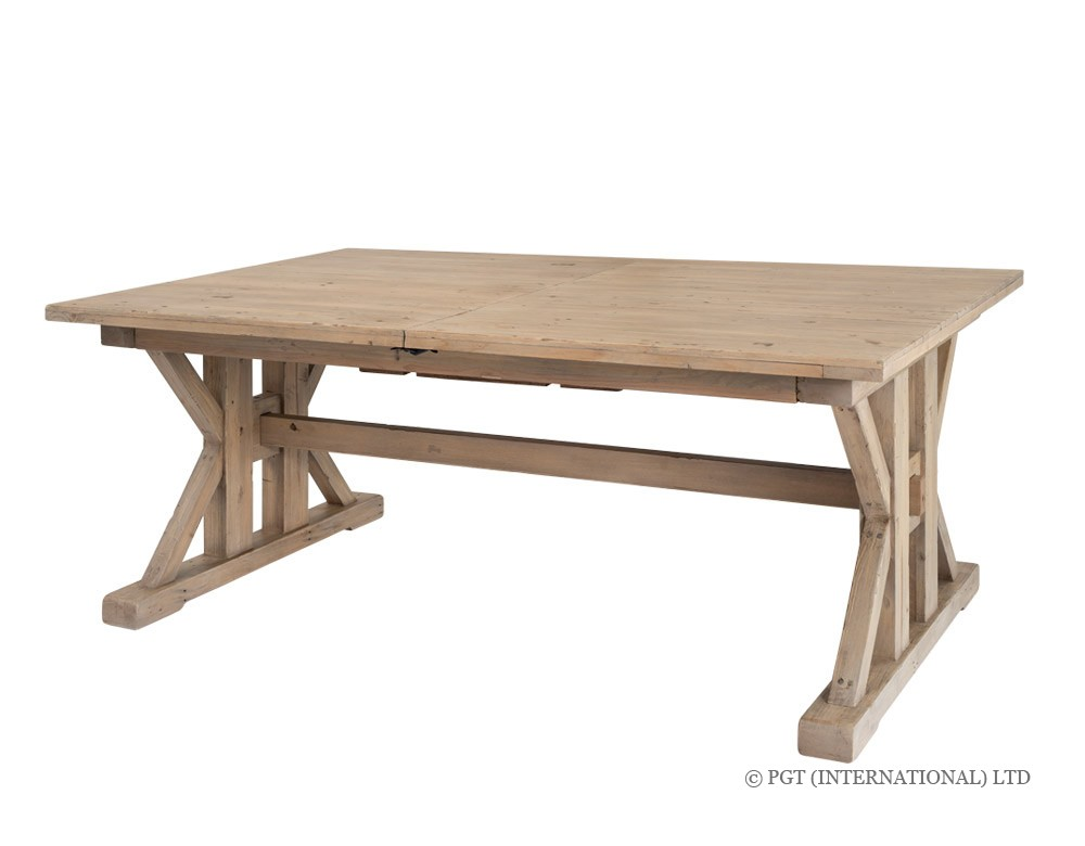 Tuscanspring recycled wood dining table