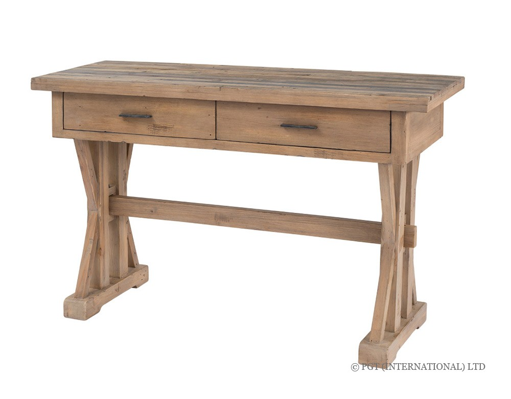 Tuscanspring solid timber hall table