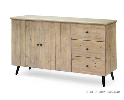Valletta Buffet Cabinet with 3 Drawers and 2 Doors