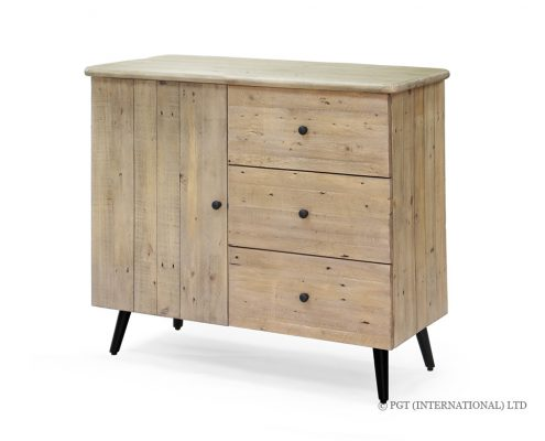 Valletta Sideboard with 3 Drawers and 1 Door