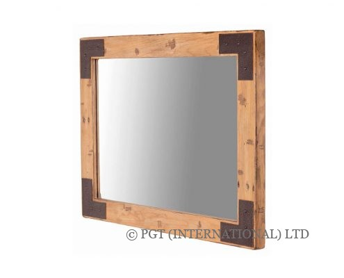 woodenforge square mirror