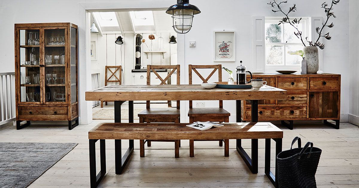 woodenforge reclaimed dining collection