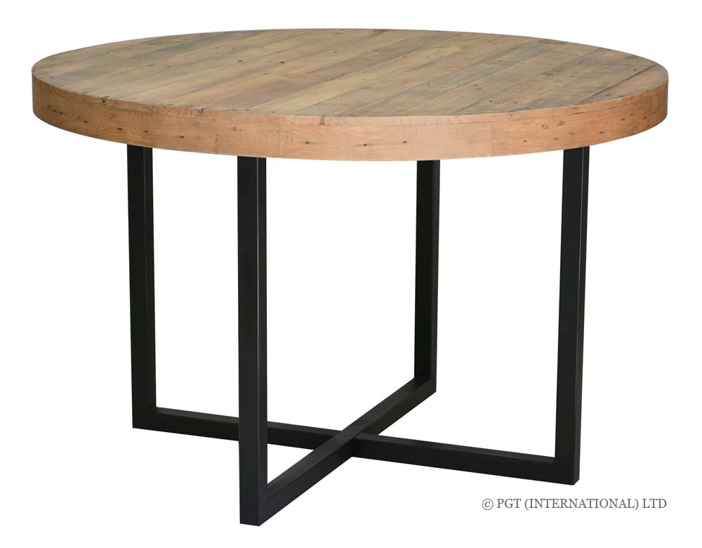 woodenforge round dining table