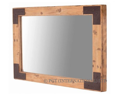 woodenforge rectangle mirror